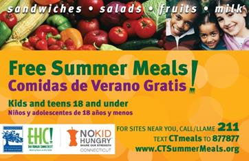 CT Summer Meals logo